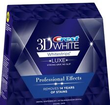 Crest 3D white Whitestrips Professional Effects 20 Strips 10 Pouch, No BOX 2020