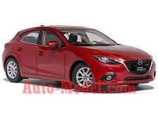 1:18 Changan Mazda 2014 Mazda 3 Hatchback Soul Red Metallic Dealer Edition