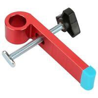 T-type Slide Slot Track Stopper Woodworking Positioning Limiter Wood Clamp Tool