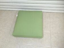 Frontgate Cassara Sunbrella Chair Ottoman Bottom Cushion 25x27 Canvas Peridot
