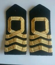 Sea Cadet Corps Commander Gold Boards & buttons SCC RNVR NTC CCF