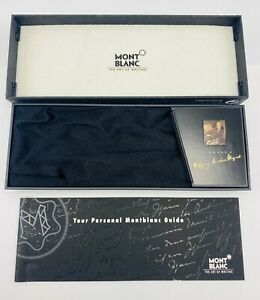 VINTAGE MONTBLANC HOMMAGE A WOLFGANG AMADEUS MOZART BOX ONLY