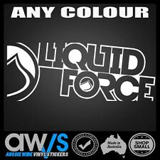LIQUID FORCE STICKER DECAL LARGE For Wakeboarding Jetski Boat Board Ski Wake