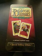 The Great Dalmuti SPECIAL HOLIDAY EDITION Game Wizards Of The Coast RARE Sample