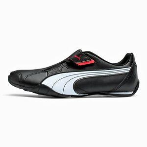 PUMA 'Redon Move' Men's Sneakers Slip-On Casual Shoes Black 10 NO LACES **NIB**