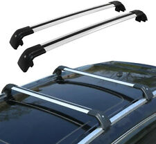 Roof Rack Cross Bars Luggage Carrier Silver for Audi Q5 / SQ5 2009-2017