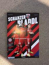 Programm FC Ingolstadt - FC Bayern München 11.02.17 FCB Programmheft
