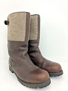 Ludwig Reiter Maronibrater Boot Brown Leather Mens Size 8/9