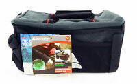 Axiom Seymour Oceanweave P9 Bike Trunk Rack Bag Gear Black & Grey Rear Pack