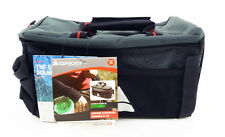 Axiom Seymour Oceanweave P9 Bike Trunk Rack Bag Gear Black & Grey Rear Pack