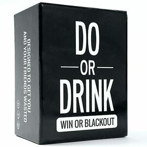 Do or Drink - Party Card Game for College, Camping,Parties Funny for Men & Women