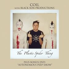 COIL with BLACK SUN PRODUCTIONS The Plastic Spider Thing LIMITED CD+DVD Digipack