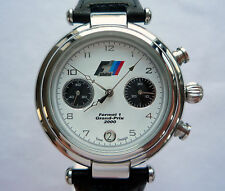 BMW M Power Motorsport Grand Prix Racing Rally DTM Style Sport Chronograph Watch