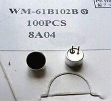 2pcs Panasonic WM-61B102B Electret Condenser MIC Capsule Microphone Cartridge