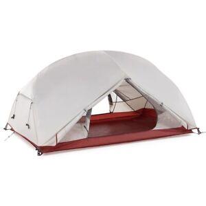 Waterproof Double Layer Outdoor Tent Aluminum Rod Ultra-light Single Camping Mat