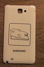 Originale Samsung Galaxy Note N7000 Coperchio Per Batteria Copertura bianco