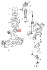 Genuine Spring support lower AUDI Audi A4 Avant S4 Cabrio quattro RS4 8E0512297J