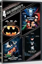 4 Film Favorites: Batman DVD Collection Set New & Sealed Free Shipping Included