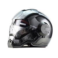 DOT Motorcycle Iron Helmet Masei Full Face Man Helmets Moto Cascos Capacete 610