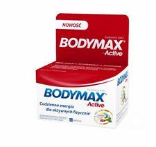 BODYMAX ACTIVE 60 tabl. energia witalność odporność sprawność sexualna ginseng