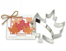 "Ann Clark Maple Leaf Cookie Cutter, 5"" NEW"