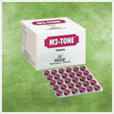 3 X 30 Charak M2 Tone- Herbal Tablets l