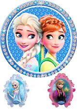 Tortenaufleger---Elsa und Anna---Geburtstag--Party--Tortenbild--Fondant //Oblate