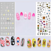 DIY Nail Art Sticker Water Transfer Stickers Decal Manicure Tips Decor .