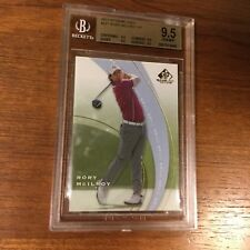 RORY McILROY 2012 SP GAME USED RC SP1 BGS 9.5 ( Super Subgrades )