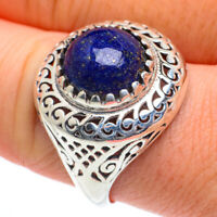 Lapis Lazuli 925 Sterling Silver Ring Size 9.75 Ana Co Jewelry R62565F