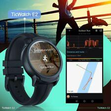 TicWatch E2 Black SmartwatchWear OS, Fitness-Smartwatch, 5 ATM wasserdicht