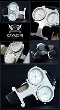Cavadini Reloj de Mujer Verano Doble Tiempo Especial Diseño Acero Inox.