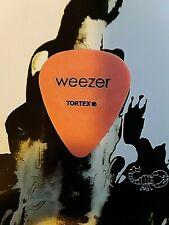 Weezer Japan World Cup 2002 orange guitar pick
