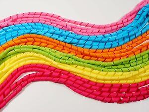 24 PCs 6 Mixed Colours 10MM Korker Ribbon Curly Ribbon