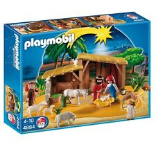PLAYMOBIL 4884 NATIVITY MANGER WITH STABLE  MISB!NEW!!!