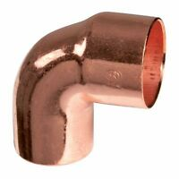 Raccord cuivre à souder, 92 - COUDE 90°, Mâle-Femelle ,  VOIR TABLEAU DIMENSIONS