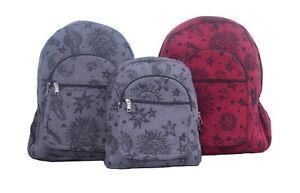 HANDMADE Hippie Gypsy RuckSack Tribe Star Sign GANESHA Backpack Bag Nepal RB30