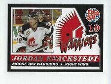 2006-07 Moose Jaw Warriors (WHL) Jordan Knackstedt (Dresdner Eislöwen)