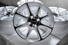 15x6.5 White Wheels Rims 4x100 Honda Civic Accord Corolla Miata Cooper Prius (4)