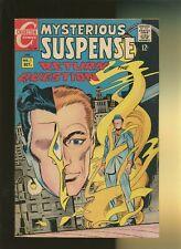 Mysterious Suspense 1 VG+ 4.5 * 1 Book Lot * Charlton! Question! Steve Ditko!