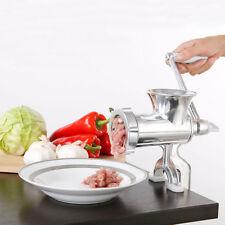 Manual Meat Grinder Mincer Stuffer Table Hand Sausage Filler Sauce Maker Machine