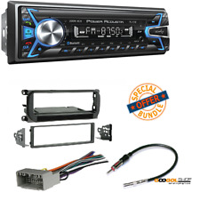 Power Acoustik 1-DIN 32GB USB/SD/AUX/ CAR STEREO RECEIVER DASH MOUNTING KIT (3)