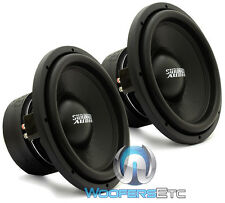 "(2) SUNDOWN AUDIO SA-12 D4 CLASSIC SUBS 12"" 750W DUAL 4-OHM SUBWOOFERS SPEAKERS"
