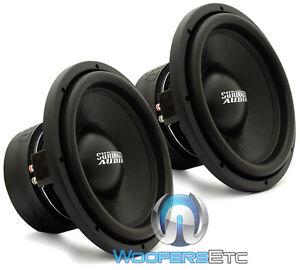 "(2) SUNDOWN AUDIO SA-12 D4 CLASSIC SUBS 12"" 750W DUAL 4-OHM SUBWOOFERS SPEAKERS"