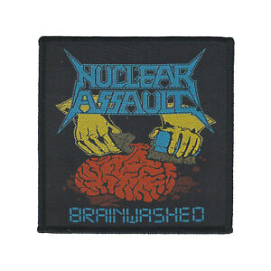 Nuclear Assault Brainwashed Patch anthrax-overkill-sod-municipal waste-vio-lence