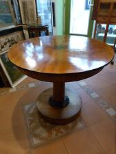 Tisch, Biedermeier, Rund, Durchmesser 92 cm, Höhe 78 cm, Auf einem Fuß stehend