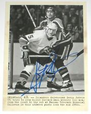 DENIS POTVIN SIGNED 11-12 UD PARKHURST CHAMPIONS WIRE PHOTO CARD AUTOGRAPH AUTO!
