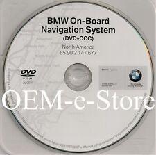 2007 2008 BMW 328i 328xi 335i 335xi Navigation DVD Map U.S Canada 2009.1 Update