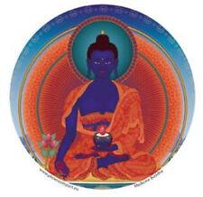Mandala Arts Window Sticker Single Sided: Medicine Buddha 11.7cm