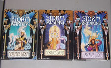 LOT Mercedes Lackey STORM WARNING RISING BREAKING Hardcover Valdemar Mage Storms